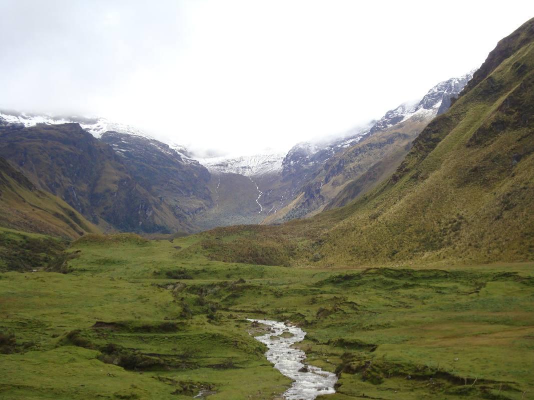 Complejo de montañas Cubillines